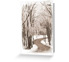 Frederick Md Ice Storm 802-2 Greeting Card