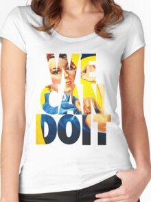 Rosie The Riveter Women's Fitted Scoop T-Shirt