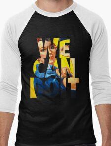 Rosie The Riveter Men's Baseball ¾ T-Shirt