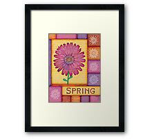 Spring Daisies Framed Print