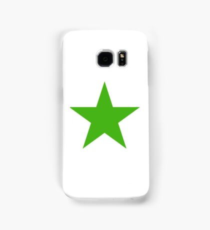 GREEN, STAR, Environment, Environmentalist, Ecology, Eco, Nature, Green, Samsung Galaxy Case/Skin