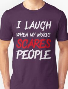 Scares people Unisex T-Shirt