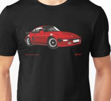 Porsche 911 930 Turbo Flatnose (1981) Unisex T-Shirt