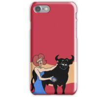 Wildago's Pearl and the Osborne Bull iPhone Case/Skin