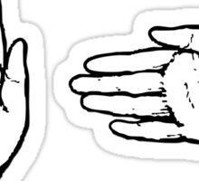 Boi (sign language) Sticker