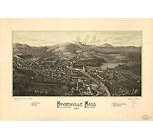 Haydenville Massachusetts (1886) Photographic Print