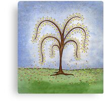 Whimsical Willow Tree Canvas Print