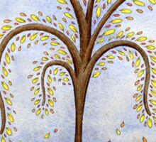 Whimsical Willow Tree Sticker