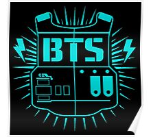 BTS (Army Blue) Poster
