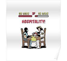 Mortal Hospitality Kombat Poster