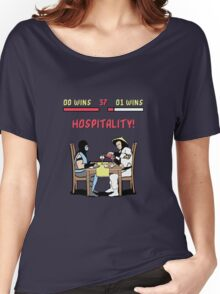 Mortal Hospitality Kombat Women's Relaxed Fit T-Shirt