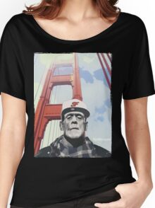 #goldengate (Frankie's selfie) Women's Relaxed Fit T-Shirt