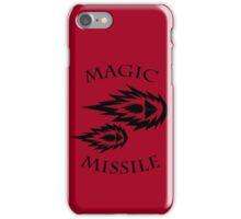 Magic Missile (2D4) iPhone Case/Skin