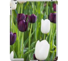 Tulips in A Field 2 iPad Case/Skin