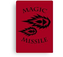 Magic Missile (2D4) Canvas Print