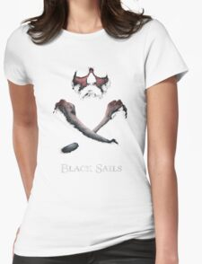Black Sails Womens Fitted T-Shirt