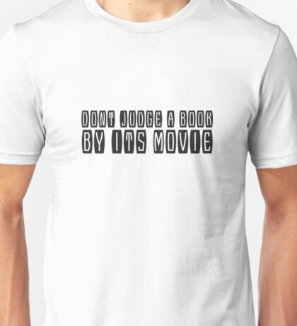 Books Movies Funny Clever humour Smart Joke Cool Unisex T-Shirt