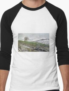 """""""Winter in the Yorkshire Dales"""" Men's Baseball ¾ T-Shirt"""