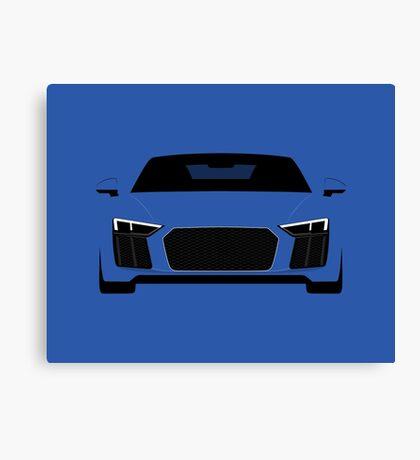 Super car front end Canvas Print