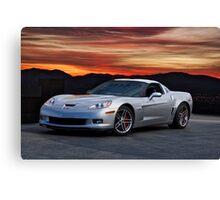 2006 Corvette Z06 Coupe Canvas Print