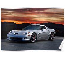 2006 Corvette Z06 Coupe Poster
