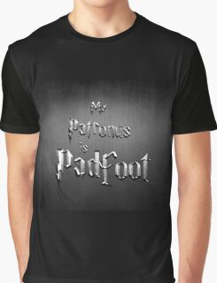 My Patronus is Padfoot Graphic T-Shirt