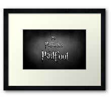 My Patronus is Padfoot Framed Print