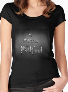 My Patronus is Padfoot Women's Fitted Scoop T-Shirt