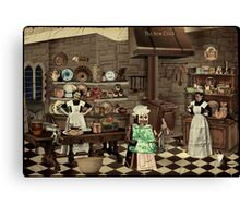 The New Cook Canvas Print