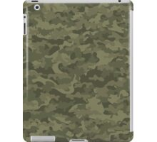 Camouflage military cloth iPad Case/Skin