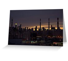 Manhattan from the Queens Greeting Card