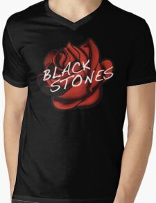 The Black Stones (BLAST) Mens V-Neck T-Shirt