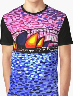 Sydney Harbour Graphic T-Shirt