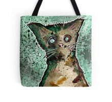 Turtle the turtleshell zombie kitten Tote Bag