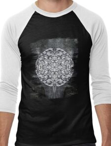 Flower of Life Men's Baseball ¾ T-Shirt