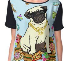 pug life #2 Chiffon Top