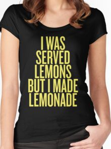 Made Lemonade Women's Fitted Scoop T-Shirt