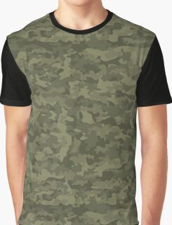 Camouflage military cloth Graphic T-Shirt