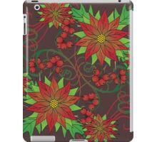Poinsettias  iPad Case/Skin