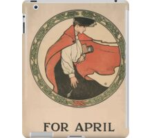 Artist Posters Scribner's for April 2 now ready price 25 cts 0907 iPad Case/Skin