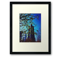 Skyscraper Blues Framed Print