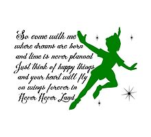 Peter Pan ~ Never Land by sweetsisters