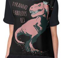 tyranno fabulous rex #1 Chiffon Top