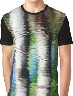 Water Reflection Graphic T-Shirt