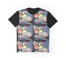 Wildago's 3D Pearl and Friends Graphic T-Shirt