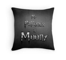 My Patronus is Moony Throw Pillow
