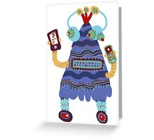 Cellibot Greeting Card
