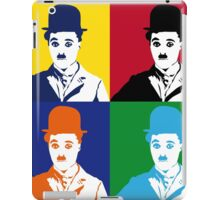 Chaplin meet pop PT.2 iPad Case/Skin