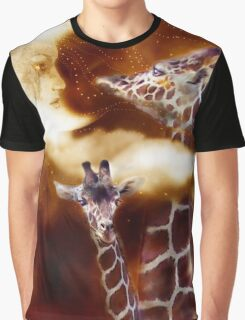 Giraffes - Way Up There Graphic T-Shirt