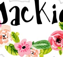 Jackie Floral Sticker